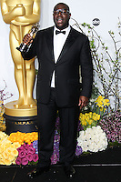 HOLLYWOOD, LOS ANGELES, CA, USA - MARCH 02: Steve McQueen at the 86th Annual Academy Awards - Press Room held at Dolby Theatre on March 2, 2014 in Hollywood, Los Angeles, California, United States. (Photo by Xavier Collin/Celebrity Monitor)