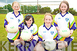 CU?L:  Enjoying the VHI GAA Cu?l Camp in Glenflesk last Thursday were l-r: Ellen Cronin, Ro?isi?n Kelleher, Jennifer Murphy, Leah Lynch..