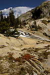 CA: Yosemite National Park, Tuolomne River beyond Glen Aulin  .Photo Copyright: Lee Foster, lee@fostertravel.com, www.fostertravel.com, (510) 549-2202.cayose213.
