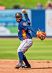 28 February 2017: Houston Astros infielder Jose Altuve in action during the Spring Training inaugural game against the Washington Nationals at the Ballpark of the Palm Beaches in West Palm Beach, Florida. The Nationals defeated the Astros 4-3 in Grapefruit League play. Mandatory Credit: Ed Wolfstein Photo *** RAW (NEF) Image File Available ***