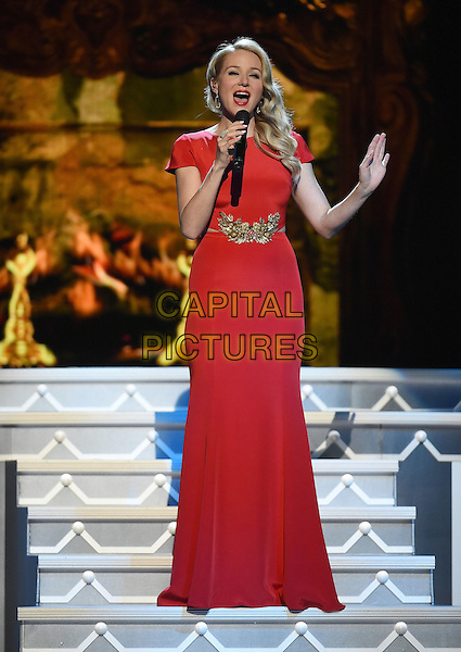 07 November 2015 - Nashville, Tennessee - Jewel, Jewel Kilcher. 2015 CMA Country Christmas held at the Grand Ole Opry House.  <br /> CAP/ADM/LF<br /> &copy;Laura Farr/AdMedia/Capital Pictures