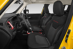 Front seat view of 2019 JEEP Renegade Trailhawk 5 Door SUV Front Seat  car photos