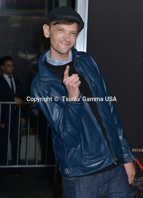 DJ Qualls  757 at the Annabelle Premiere at the TCL Chinese Theatre in Los Angeles.