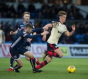 2nd December 2017, Global Energy Stadium, Dingwall, Scotland; Scottish Premiership football, Ross County versus Dundee; Dundee's Mark O'Hara goes past Ross County's Marcus Fraser