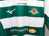 New shirts for the 2019/20 Pre Season Friendly match between Ealing Trailfinders and Bishop's Stortford at Castle Bar , West Ealing , England  on 24 August 2019. Photo by Alan  Stanford / PRiME Media images