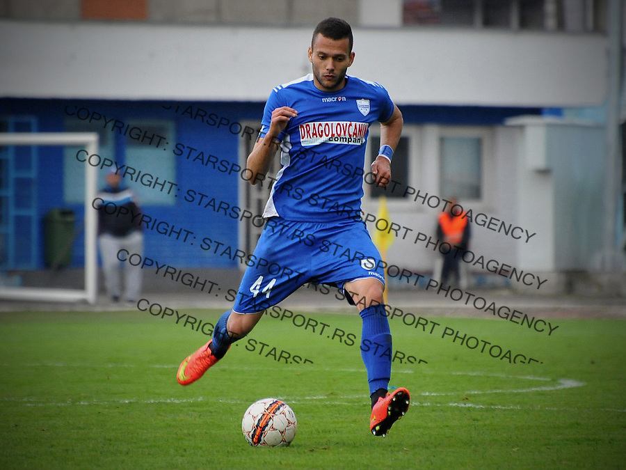 Fudbal Jelen Super League season 2015-2016<br /> Novi Pazar v Javor<br /> Nemanja Vidic<br /> Novi Pazar, 3. 5. 2016<br /> foto: Emir Sadovic/Starsportphoto &copy;
