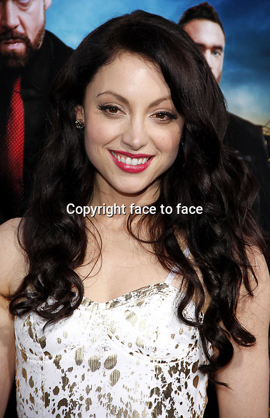 "Leah Gibson at the ""Rogue"" Los Angeles Premiere at ArcLight Hollywood on March 26, 2013 in Hollywood, California...Credit: PopularImages/face to face"