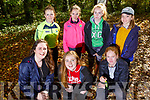 Students from the Community College Killorglin orienteering in the Ballyseedy Woods on Tuesday.<br /> Kneeling l-r, Katie Collins, Cara Moriarty and Aine Scott.<br /> Back l-r, Catherine O&rsquo;Connor, Sarah Coffey, Shauna McCarthy and Molly Seex.