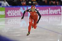 SCHAATSEN: HEERENVEEN: IJsstadion Thialf, 16-11-2012, Essent ISU World Cup, Season 2012-2013, Ladies 500 meter Division A, Hong Zhang (CHN), ©foto Martin de Jong
