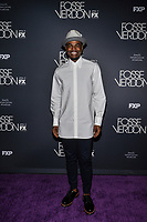 "NEW YORK - APRIL 8: Ahmad Simmons attends the premiere event for FX's ""Fosse Verdon"" presented by FX Networks, Fox 21 Television Studios, and FX Productions at the Gerald Schoenfeld Theatre on April 8, 2019 in New York City. (Photo by Anthony Behar/FX/PictureGroup)"