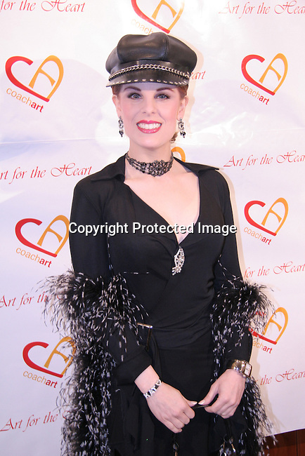 Katherine Kramer<br />&ldquo;Art for the Heart&rdquo;, Auction to benefit CoachArt<br />Christie&rsquo;s<br />Beverly Hills, CA, USA<br />Thursday, November 04th, 2004<br />Photo By Celebrityvibe.com/Photovibe.com, <br />New York, USA, Phone 212 410 5354, <br />email:sales@celebrityvibe.com