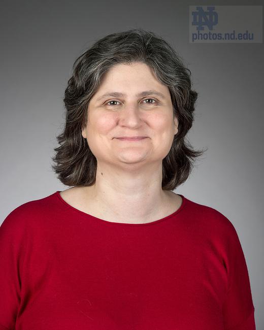 May 12, 2017; Joanne Clifford - Headshot (Photo by Barbara Johnston/University of Notre Dame)