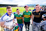 John O'Shea, Gearoid O'Sullivan, Cian O'Shea and Padraig O'Sullivan, Dromid, pictured at the Kerry v Clare Munster semi-final at Fitzgerald Stadium, Killarney on Sunday last.