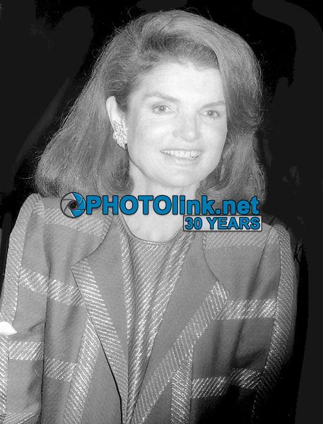 Jackie Kennedy 1978<br /> Photo By John Barrett/PHOTOlink