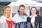 Yvonne, Evan McKay and Katie McCrohan Caherciveen at the boat show at Caherciveen Marina on Saturday     Copyright Kerry's Eye 2008
