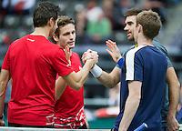 13-02-13, Tennis, Rotterdam, ABNAMROWTT, Stephan Fransen / Wesley Koolhof - Colin Fleming / Jonathan Marray