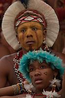 XI Jogos indígenas.<br /> Tembé.<br /> Porto Nacional, Tocantins, Brasil.<br /> Foto Paulo Santos.<br /> 07/11/2011.