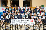 The Lee Strand Garda Youth Achievement Awards winners at the Ballyroe Heights Hotel in Tralee