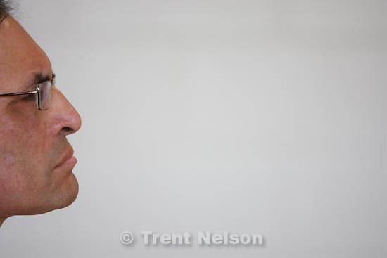 Trent Nelson  |  The Salt Lake Tribune.Draper - Marco Herrera, 54, a former West High School counselor who had a sexual affair with a 14-year-old female student, at his parole hearing Thursday, March 11, 2010. Herrera took a plea deal and is serving three consecutive 1-to-15-year terms.