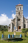Taveuni, Fiji; an exterior view of the Wairiki Catholic Mission