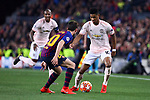 UEFA Champions League 2018/2019.<br /> Quarter-finals 2nd leg.<br /> FC Barcelona vs Manchester United: 3-0.<br /> Sergi Roberto vs Marcus Rashford.