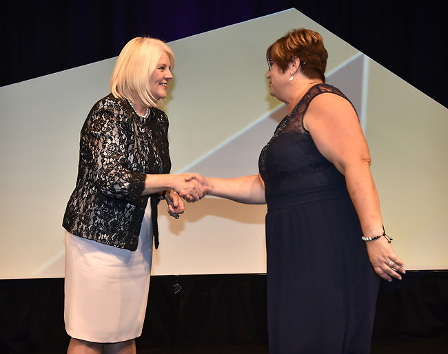 Department of Education 2017 Australian Training Awards presentation dinner event at the National Convention Centre Canberra Thursday 23rd November 2017. Photo: Mark Graham