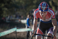 Mathieu Van der Poel (NED/Beobank-Corendon) leading the way<br /> <br /> CX Superprestige Zonhoven 2016