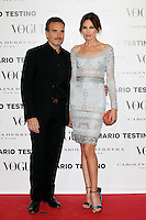 Nieves Alvarez and Marco Severini attends Vogue and Mario Testino photocall in Madrid. November 27, 2012. (ALTERPHOTOS/Caro Marin) /NortePhoto
