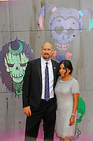 LONDON, ENGLAND - AUGUST 3: David Ayer and Maria Ayer attending the 'Suicide Squad' European Premiere at Odeon Cinema, Leicester Square on August 3, 2016 in London, England.<br /> CAP/MAR<br /> &copy;MAR/Capital Pictures /MediaPunch ***NORTH AND SOUTH AMERICAS ONLY***