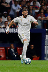 Karim Benzema of Real Madrid during La Liga match between Atletico de Madrid and Real Madrid at Wanda Metropolitano Stadium in Madrid, Spain. September 28, 2019. (ALTERPHOTOS/A. Perez Meca)