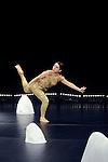 ANDROCEPHALE..Essai chorégraphique sur une partition de Satie..Solo,43',..CREATION 2012..d'après « Vexations » d'Erik Satie (1893)..Chorégraphie et interprétation : Jesus Sevari..Scénographie Yann Le Bras..Assistante chorégraphe et AFCMD : Nathalie Schulmann Patricio Luengo :Costumes..Lieu : Micadanse..Ville : Paris..le 06/02/2012..© Laurent Paillier / photosdedanse.com..All rights reserved