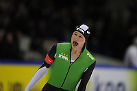 SCHAATSEN: HEERENVEEN: IJsstadion Thialf, 29-12-2012, Seizoen 2012-2013, KPN NK allround, 5000m Heren, Sven Kramer wint de 5000m in een nieuw baanrecord 6.10,37, ©foto Martin de Jong