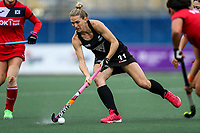 Stacey Michelsen during the World Hockey League match between New Zealand and Korea. North Harbour Hockey Stadium, Auckland, New Zealand. Saturday 18 November 2017. Photo:Simon Watts / www.bwmedia.co.nz