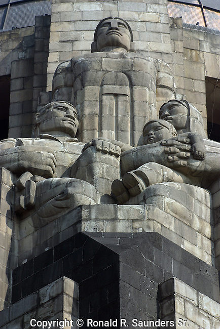 The Monument to the Revolution is a landmark and monument commemorating the Mexican Revolution.