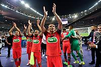 Esultanza PSG  <br /> SILVA Thiago (PSG) <br /> Parigi 27-05-2017 Stade de France <br /> Angers - Paris Saint Germain PSG Finale Coppa di Francia 2016/2017  <br /> Foto JB Autissier/ Panoramic/insidefoto