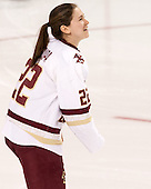 Haley Skarupa (BC - 22) - The Boston College Eagles defeated the visiting Providence College Friars 7-1 on Friday, February 19, 2016, at Kelley Rink in Conte Forum in Boston, Massachusetts.