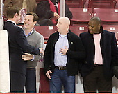 Justin Dziama, Tom Egan, Tim Kelleher and Brett Peterson are all members of the 2001 National Championship team. - The Boston College Eagles defeated the visiting Merrimack College Warriors 3-2 on Friday, October 29, 2010, at Conte Forum in Chestnut Hill, Massachusetts.