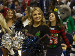 Nevada cheerleaders before an NCAA college basketball game against South Dakota State in Reno, Nev., Saturday, Dec. 15, 2018. (AP Photo/Tom R. Smedes)