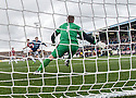 Ayr Utd's Jordan Preston scores their second goal.