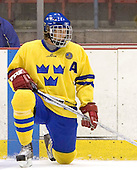 Richard Demen-Willaume (Frolunda HC - Colorado Avalanche)  The US Blue team lost to Sweden 3-2 in a shootout as part of the 2005 Summer Hockey Challenge at the National Junior (U-20) Evaluation Camp in the 1980 rink at Lake Placid, NY on Saturday, August 13, 2005.