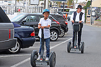 Segways are a great way to get around Puerto Banus, Marbella, Spain, October, 2013, 201310141716<br />