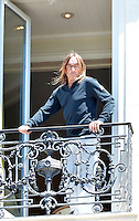 Iggy Pop while sunbathing on his balcony at the Carlton Hotel during the 69th Annual International Cannes Film Festival in Cannes, France, 20th May 2016. Credit: Timm/face to face/AdMedia