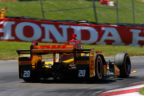 Verizon IndyCar Series<br /> Honda Indy 200 at Mid-Ohio<br /> Mid-Ohio Sports Car Course, Lexington, OH USA<br /> Saturday 29 July 2017<br /> Ryan Hunter-Reay, Andretti Autosport Honda<br /> World Copyright: Phillip Abbott<br /> LAT Images<br /> ref: Digital Image abbott_midohio_0717_5407