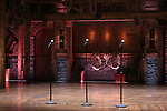 """Stage atmosphere before The Rockefeller Foundation and The Gilder Lehrman Institute of American History sponsored High School student #EduHam matinee performance of """"Hamilton"""" at the Richard Rodgers Theatre on 3/15/2017 in New York City."""