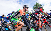 Picture by Allan McKenzie/SWpix.com - 04/09/2017 - Cycling - OVO Energy Tour of Britain - Stage 2 Kielder Water to Blyth - Simone Andreetta.