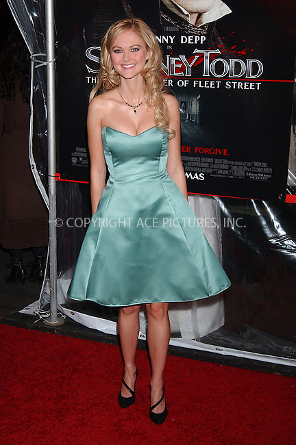 WWW.ACEPIXS.COM . . . . . ....December 3 2007, New York City....Actress Jayne Wisener arriving at the New York premiere of 'Sweeney Todd The Demon Barber Of Fleet Street' at the Ziegfeld Theater....Please byline: KRISTIN CALLAHAN - ACEPIXS.COM.. . . . . . ..Ace Pictures, Inc:  ..(646) 769 0430..e-mail: info@acepixs.com..web: http://www.acepixs.com