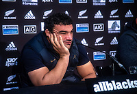 Pumas captain Agustin Creevy reflects on the loss after the Rugby Championship match between the New Zealand All Blacks and Argentina Pumas at Trafalgar Park in Nelson, New Zealand on Saturday, 8 September 2018. Photo: Dave Lintott / lintottphoto.co.nz
