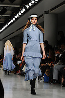 Catwalk<br /> at the Bora Aksu AW17 show as part of London Fashion Week AW17 at 180 Strand, London.<br /> <br /> <br /> ©Ash Knotek  D3230  17/02/2017