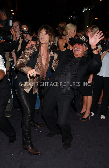 WWW.ACEPIXS.COM . . . . .....September 7, 2007. New York City.....Singer Steven Tyler of Aerosmith and designer Roberto Cavalli attend the Just Cavalli Flagship store opening in New York City...  ....Please byline: Kristin Callahan - ACEPIXS.COM..... *** ***..Ace Pictures, Inc:  ..Philip Vaughan (646) 769 0430..e-mail: info@acepixs.com..web: http://www.acepixs.com