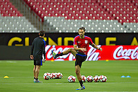 Glendale, AZ - Friday June 24, 2016: Graham Zusi of the United States during a training prior to the third place match of the Copa America Centenario at the University of Phoenix Stadium.<br /> Action photo during of the United States team training before the game against the selection of Colombia for third place in the America Cup Centenary 2016 at University of Phoenix Stadium<br /> <br /> Foto de accion durante el Entrenamiento de la Seleccion de Estados Unidos previo al partido contra la Seleccion de Colombia por el tercer lugar de la Copa America Centenario 2016, en el Estadio de la Universidad de Phoenix, en la foto: Graham Zusi de USA<br /> <br /> <br /> 24/06/2016/MEXSPORT/Victor Posadas.